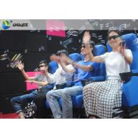 Smooth Seat Action 4d Cinema Theater With Vibration / Movement / Push Back Manufactures