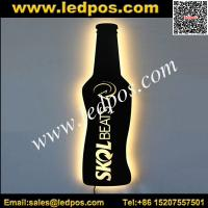 LED Bottle Shape Illuminated Sign