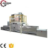 Quality 915Hz 60KW Microwave Food Thawing Machine Adjustable Transmisison Speed for sale