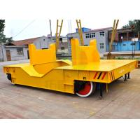 Low voltage powered electric self-propelled flat trailer for steel coil industry Manufactures
