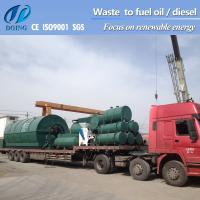 waste plastic recycling machine get fuel oil from waste tyre Manufactures