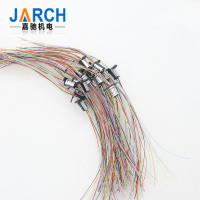 12.4mm Capsule Electrical Slip Ring12 Circuit with Flage for Laboratory Equipment Manufactures