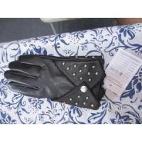 Short Style Sheep Leather with Studs Gloves (BF-13-251) Manufactures