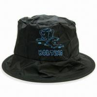 Foldable Large Fisher Hat, Made of Polyester, with Silkscreen Printing Logo, Ideal for Gifts Manufactures