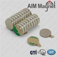NdFeB Magnets with Adhesive Backing Manufactures