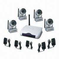 Wireless Camera Kit, Supports USB2.0, Display on Monitor or PC, 300 to 500m Transmission Distance Manufactures