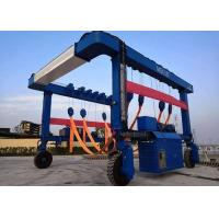 40 Tons Shipping Container Crane , Full Hydraulic Drive Mobile Container Crane for sale