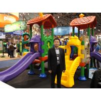 Quality ISO9001 Spring Rocker Playground Toys 56 * 42 * 88 CM HDPE Plastic for sale