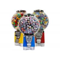 China Safe Circular Vending Machine , Gumball Vending Machine With Removable Cash Box on sale