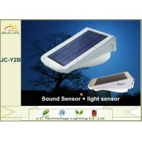 China Super Bright White 3w Polysilicon Solar Powered Motion Sensor Flood Lights on sale