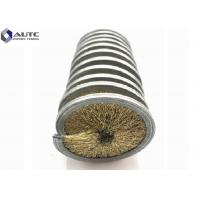 Cylinder Coil Metal Rods Spring Brush Stainless Steel Base Abrasive Filament Manufactures