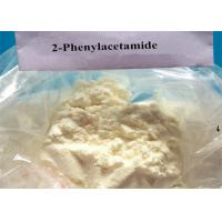 High Purity Pharmaceutical Yellow Powder 2-Phenylacetamide CAS 103-81-1 Manufactures