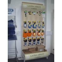 One Side Slatwall Hardware Retail Display Stands For Gloves Nickel / Chrome Plating Manufactures