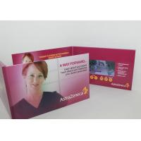 China 7 Inch Custom Lcd Talking Video Greeting Brochure Card With Led Light wholesale