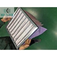 Commercial Bag Air Filters Air Handling Unit AHU Filter New Standard ISO 16890 Epm1 Manufactures