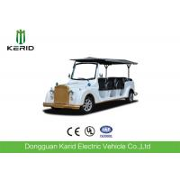 Quality 11 Passenger Retro Electric Tourist Car With Aluminium Alloy Wheel Vacuum Tyre for sale