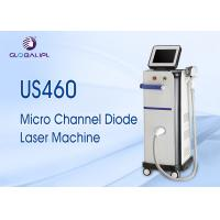 China High End Salon Use Super Cooling Microchannel Diode Laser 808 Hair Removal Machine on sale
