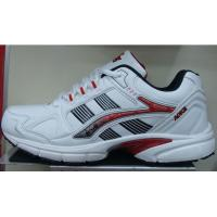 China Sports shoe,PU upper,white/red color on sale