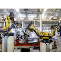 Car Assembly Robotic Packaging Machinery Metal Material High Efficiency Manufactures