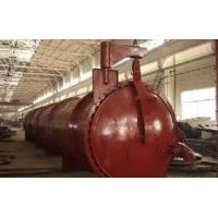 Reliable mechanical structure AAC Brick Autoclave with 16mnr steel plate Manufactures