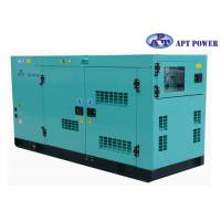30kVA 1500rpm Cummins Diesel Generator with AMF / ATS Panel , AC Output Manufactures