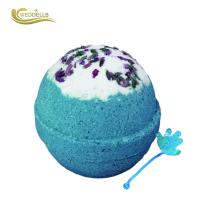 China Peaches Scent Kids Surprise Bath Bombs Baking Soda , Citric Acid Material on sale
