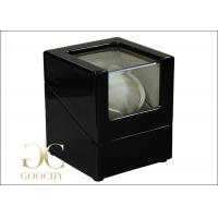 China Small Ivory Leather Single Automatic Watch Winders Black For Men on sale