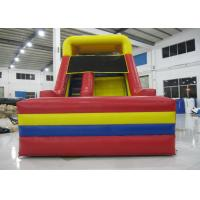 Outdoor Games Commercial Inflatable Water Slides 0.55mm Pvc Tarpaulin 6 X 3.6m