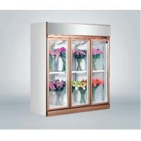Commercial Fresh Flower Glass Door Freezer Multi - Climate Fan Cooling Manufactures