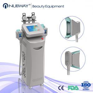 vertical 2MHZ RF skin tightening 10.4 inch screen cryolipolysis slimming machine Manufactures