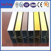 China factory wholesales colored anodized aluminum channel Manufactures