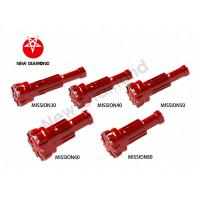 Geological Exploration Use DTH Tapered Button Bits For Mission Series Manufactures