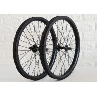 20 Inch Carbon BMX Wheels UD / 3K / 12K Appearance 36H Spoke Holes EN Approved Manufactures