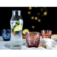 Tumbler Cup Solid Glass Products Whiskey Drinking Short Style Height 8.0cm Manufactures