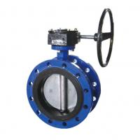 Small Water Butterfly Valve Butterfly Control Valve Nylon Coated Cast Iron Manufactures