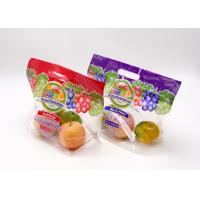 Customized Logo Printing Fresh Fruit Ziplock Plastic Pouch Eight Sides Seal Manufactures