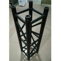 Quality Black Aluminum Spigot Stage Truss 300*300*1m Size For Indoor Show And Events for sale