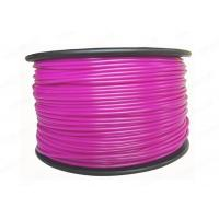 Plastic PLA 3D Printing Filament 3MM Purple For Printer Makerbot R2 / UP 2 Manufactures