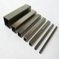 China Q235 Galvanized Structural Steel Square Tube 15X15mm - 600X600mm for Oil pipe lines on sale