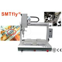 4 Axis PCB Robotic Soldering Machine Customized Thermode 1-99.9s Heating Time Manufactures