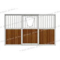 Sliding Door Horse Stable Box With Accessories Homemade Horse Stables Stall With Wire Manufactures