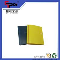 China Stationery Supplier PP Cover A4 Paper Customized File Folder Plastic Ring Binder on sale