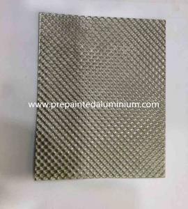 China Alloy 1060 Diamond pattern embossed aluminum sheet used for Decoration on sale