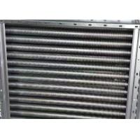 China Copper Finned Aluminum Tube Heat Exchanger Customized Made Dimension on sale