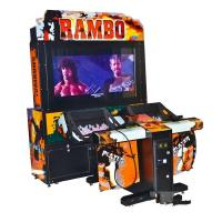 Coin Operated Upright Video Game Machines , Gun Shooting Commercial Gaming Machines Manufactures