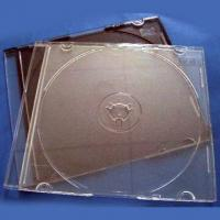 5.2mm Single CD Case with Black and Clear Color, Designed for Gima or Ilsemann Packing Machines Manufactures