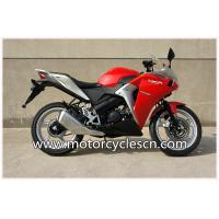 Water-Cooled Red Drag Motorcycles Road Racing , Honda CBR150 Sports Car Manufactures