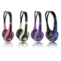 China Switching 40mm 30mW Educational Wired Headphones For PC on sale