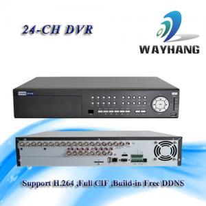 CCTV 24-CH DVR Standalone H.264 Net DVR Security System HDMI/VGA Surveillance Manufactures