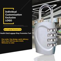 Mini Anti Theft Combination Travel Luggage Lock With Zinc Alloy Lock Body Manufactures